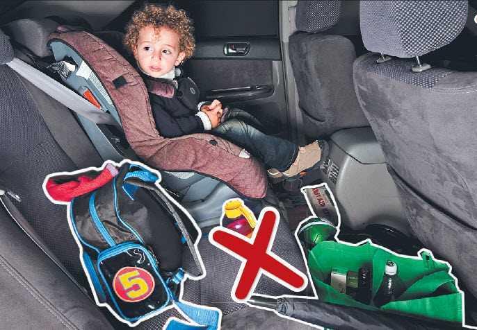 Seguridad Vial dentro del automóvil