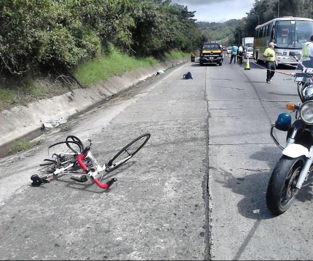ciclista muere en ochomogo 1