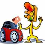 respetando a un semaforo