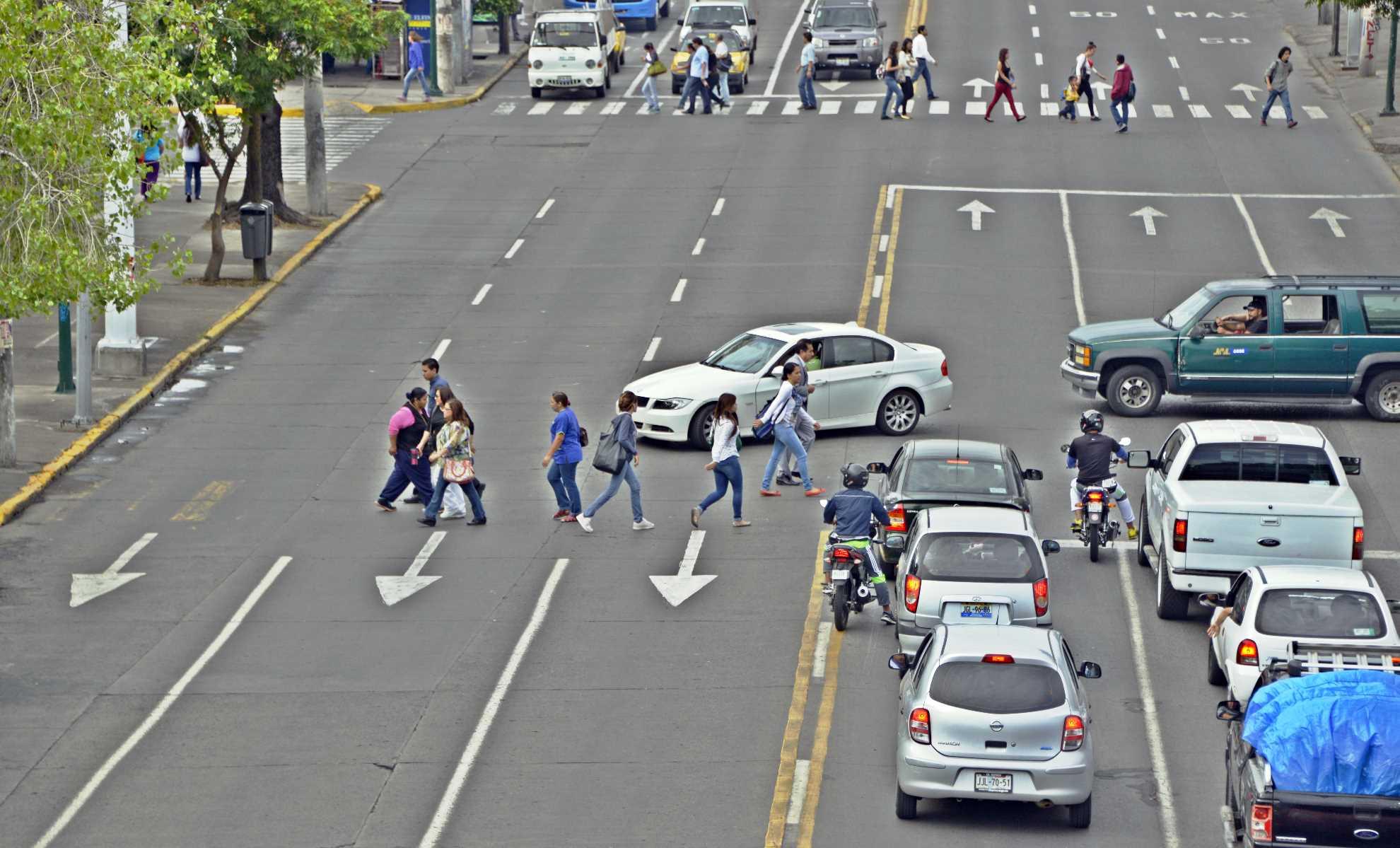 usuarios vulnerables a los accidentes Seguridad Vial