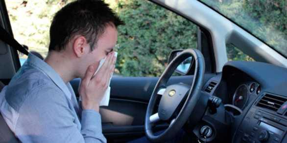 conducir con alergias