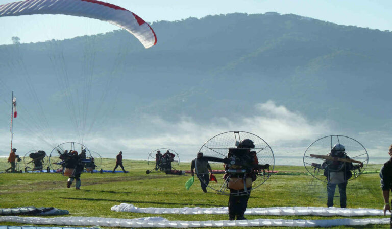 SCOUT Carbon Paramotor Moster