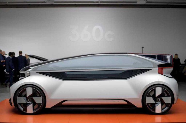 Volvo presenta el nuevo robo-taxi en la carrera hacia la autonomía