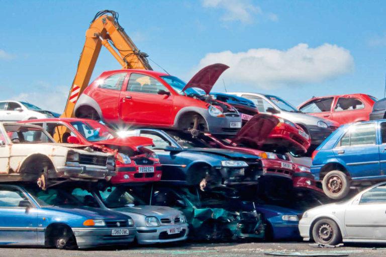 La verdad sobre el desguace de coches