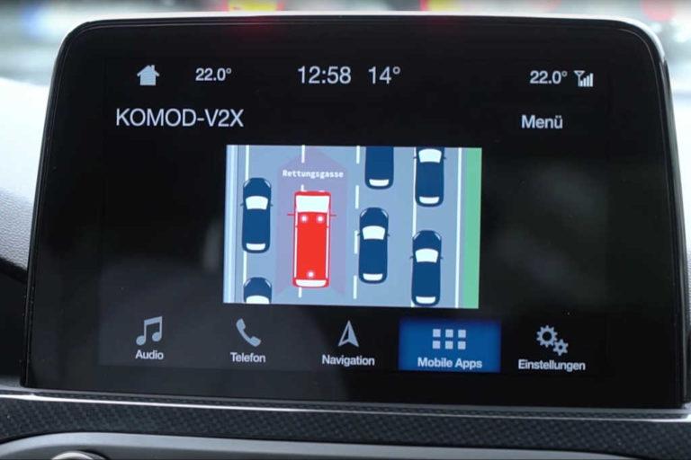 La tecnología conectada de Ford despeja el camino para los servicios de emergencia