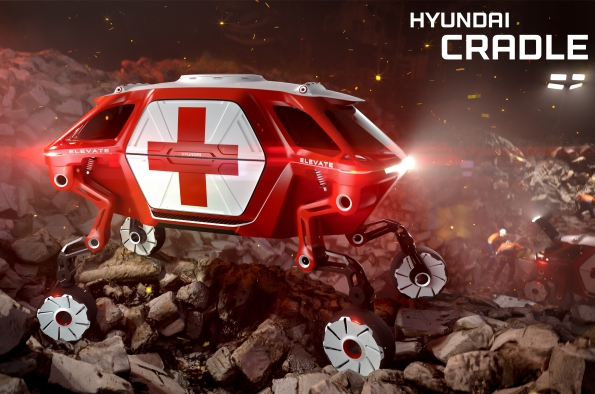 Photo of Hyundai Elevate: Se revela el concepto de coche andante