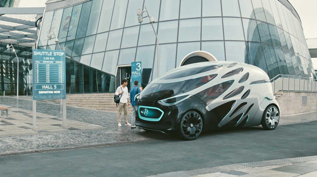 Photo of Daimler construye una furgoneta autónoma dos por uno para el transporte urbano