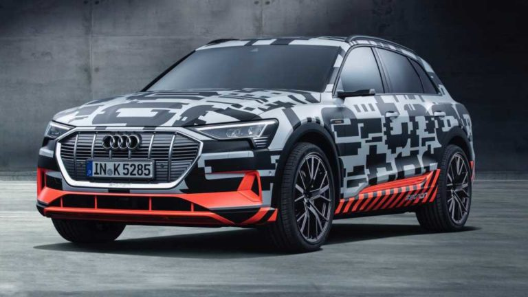 Audi e-tron será el primer modelo en contar con pago automático de peaje