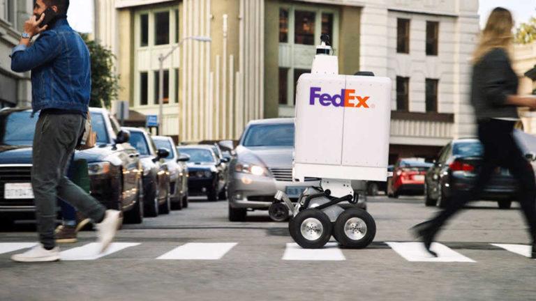 FedEx Presenta el Delivery-Robot para para el mismo día