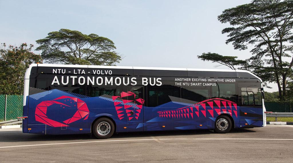 Photo of Los autobuses autónomos de Volvo se preparan para Singapur