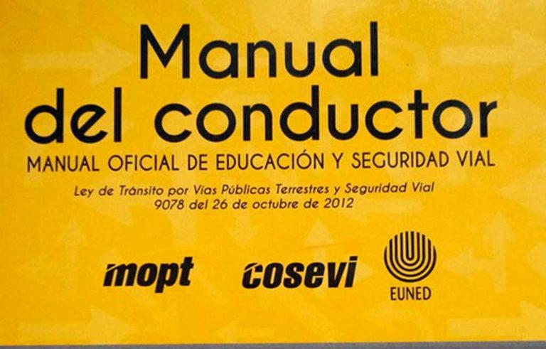 A partir del mes de abril se procederá a la evaluación del examen de manejo teórico con un nuevo libro de portada amarilla