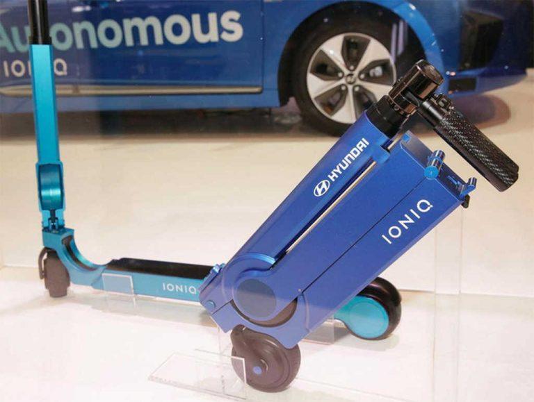 Hyundai revela el concepto de scooter eléctrico
