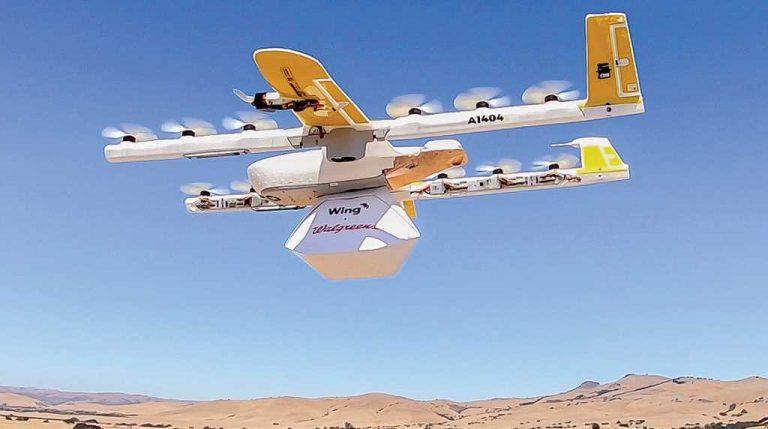 FedEx completa la primera entrega de un paquete comercial usando un drone