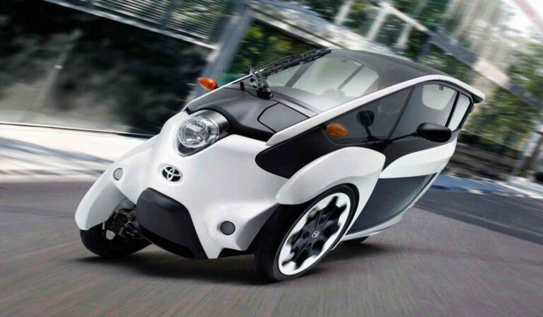 El divertido Toyota i-Road no se parece a nada que haya conducido antes…