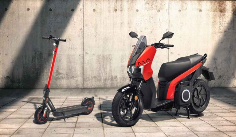 Seat lanza un scooter  y monopatin eléctrico
