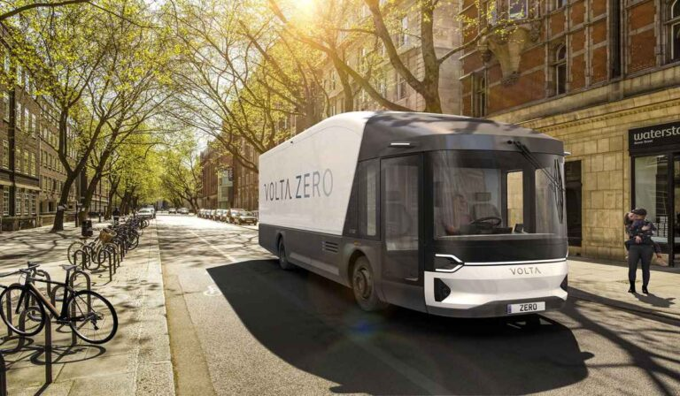 Volta Zero, un camión eléctrico que utiliza fibra de lino.