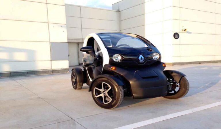 El Renault Twizy ZE, un coche eléctrico urbano