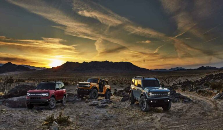 La SUV Bronco 2021 de Ford ofrece cámara de 360 grados para una 'vista panorámica'