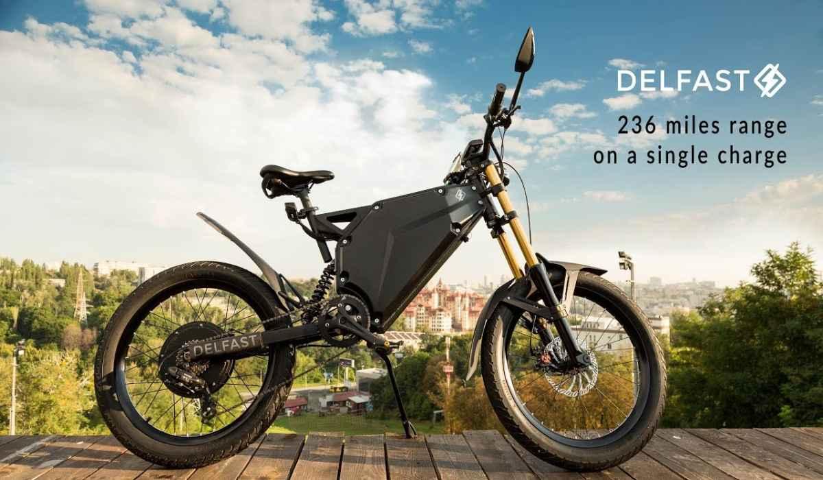 Esta bicicleta eléctrica ofrece más de 320 km de autonomía y corre a 80 km/h.