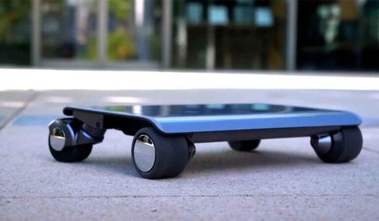 """Walkcar, el """"coche eléctrico portátil"""", está finalmente en el mercado."""
