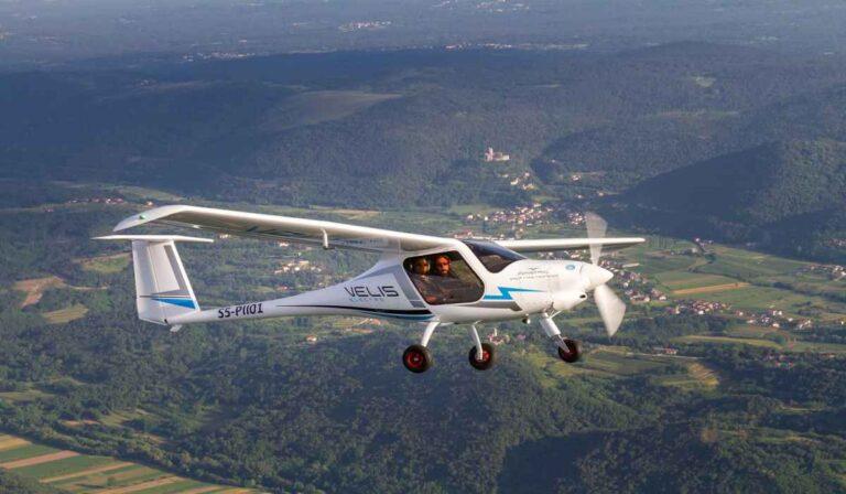 Pipistrel Velis Electro, la primera aeronave eléctrica del mundo certificada por la EASA.