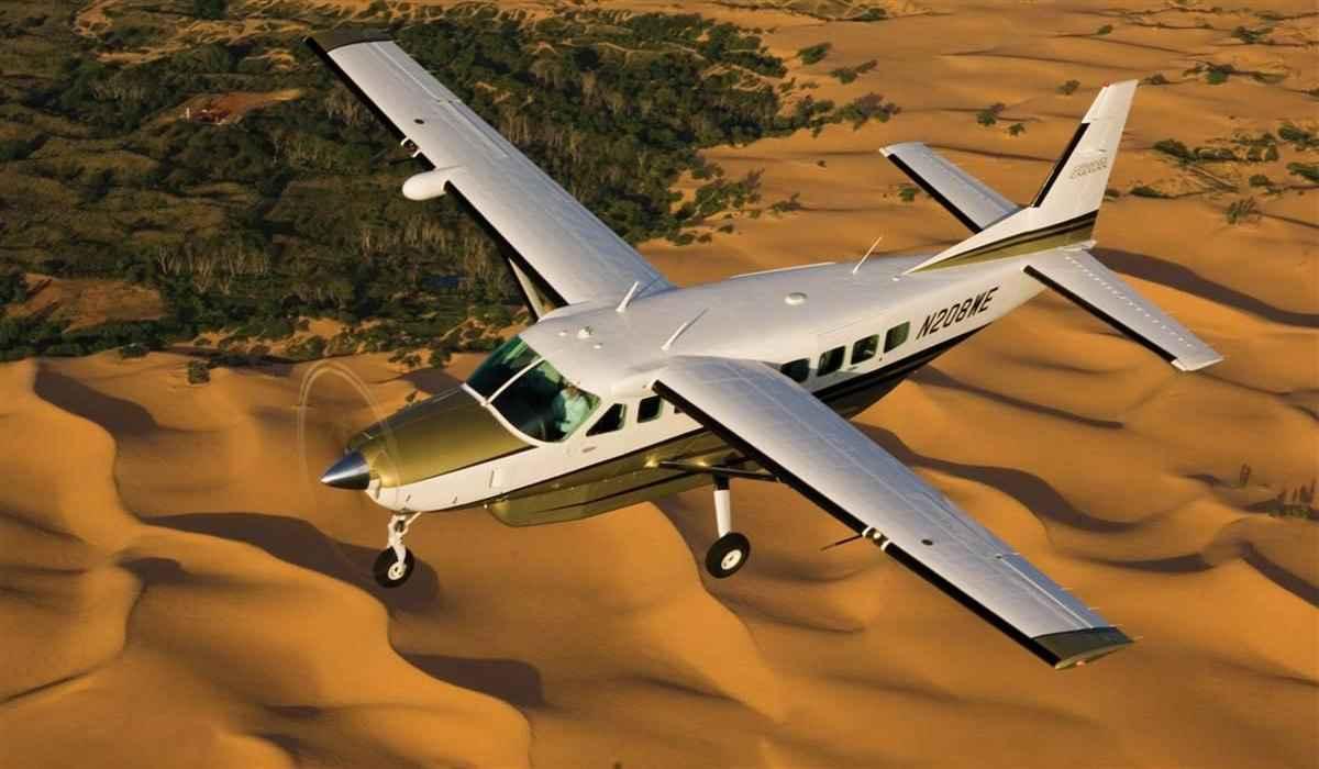 Este Cessna Caravan 208 se convertirá en la mayor aeronave 100% eléctrica que vuele hoy en día.