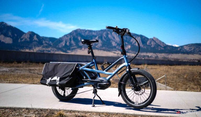 Nueva bicicleta eléctrica de carga Tern GSD: tan compacta como siempre pero aún más práctica