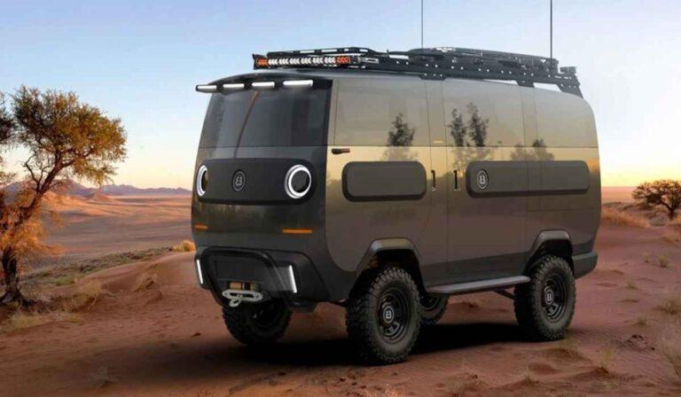 eBussy, el mini camión eléctrico que se transforma a voluntad