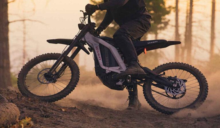 Conoce la Dirt eBike X160, de Segway