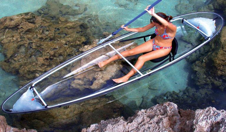 Molokini : Kayak Transparente